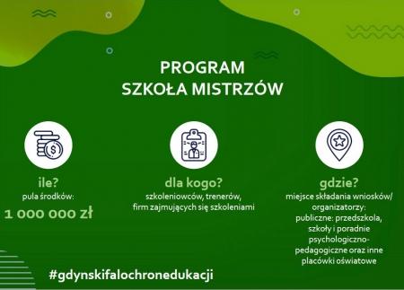 Program SZKOŁA MISTRZÓW