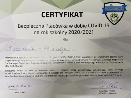Bezpieczna Placówka w dobie COVID-19